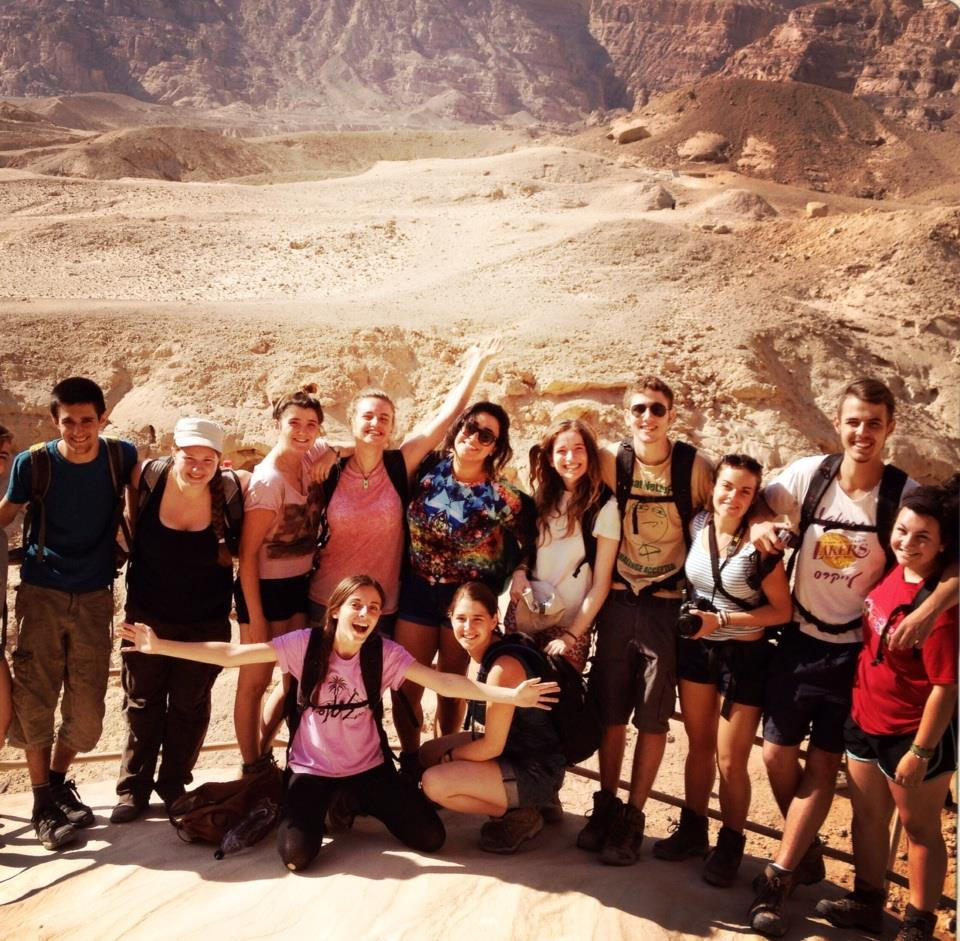 Hiking in Timna Park